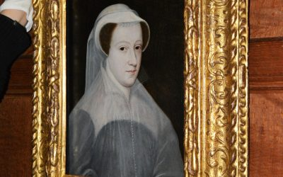 Mary Queen of Scots arrives at Hever Castle
