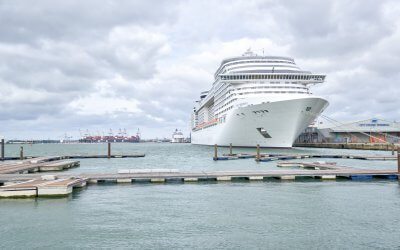 Tourism boost for major ports