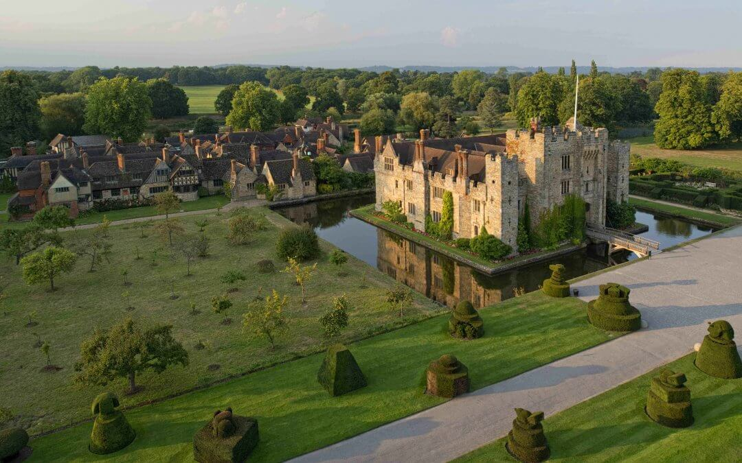 Top award for Hever Castle and its luxury B&B
