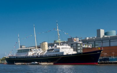 The Royal Yacht Britannia is a must for groups
