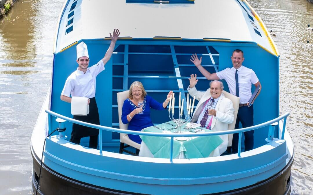 UK's first all-electric restaurant boat for groups takes to the water