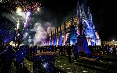 Winchester Cathedral Christmas Market voted best in the UK