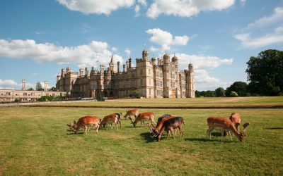 Burghley House gets set to celebrate