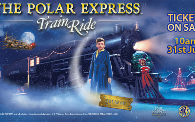 All aboard for the Polar Express at the South Devon Railway