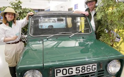 Get back to nature at the British Motor Museum