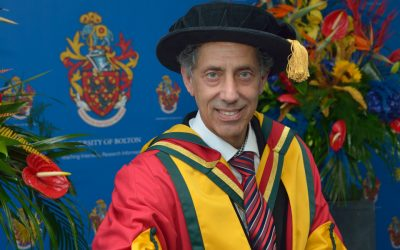 'Dr Tasos' recognised by the University of Bolton