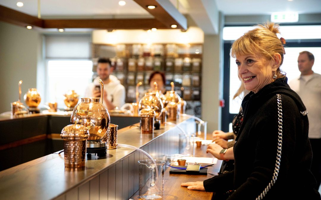 Raise a glass to distillery's new group tours